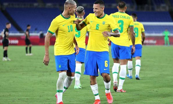 ฟุตบอลชาย โอลิมปิก 2020 : บราซิล(U23) พบ อียิปต์(U23)